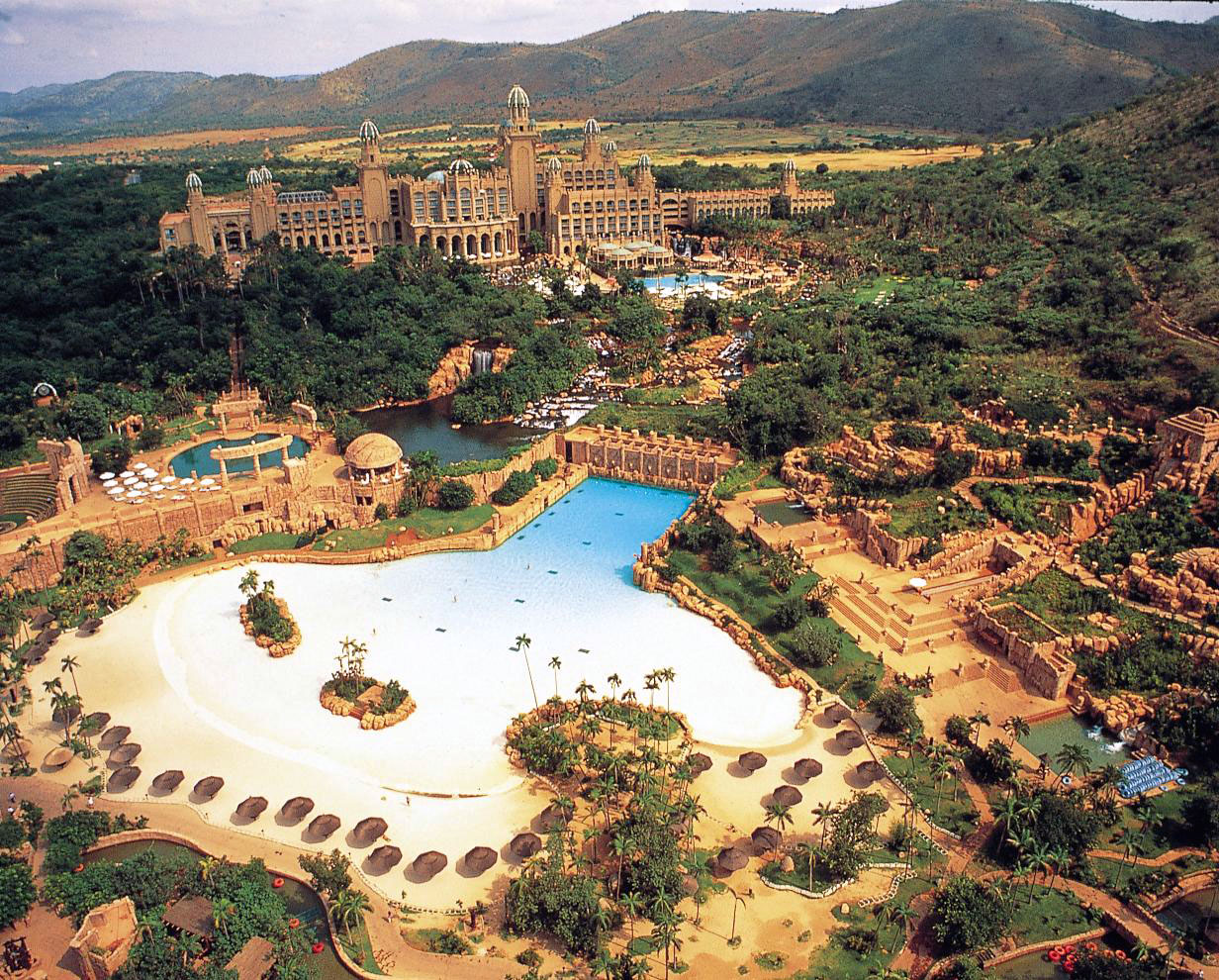 Top down view of Sun City