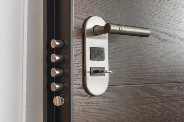 Door with multiple locks