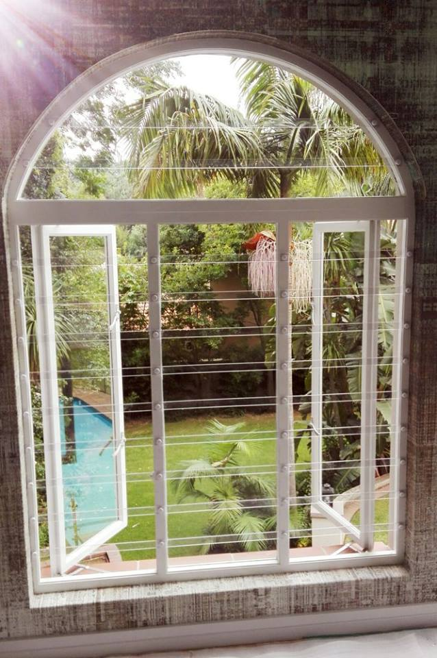 Transparent Security Gate And Clear Burglar Bar Products