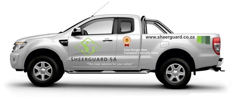 SheerGuard franchise pickup truck